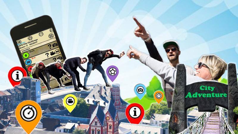 City Adventure: Discover the city with an exciting GPS rally!